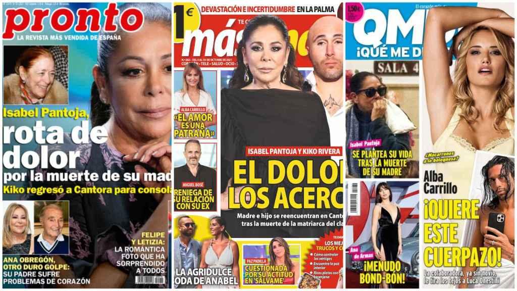 Estas son las revistas de este lunes.