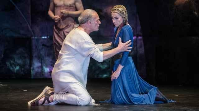 Lluís Homar y Ana Belén, durante la representación de la obra.