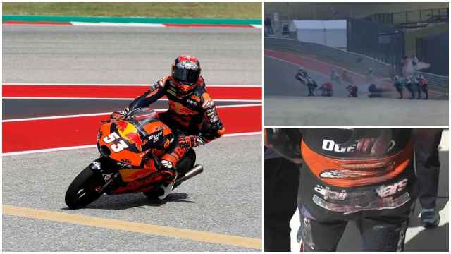 Öncü y el accidente de Moto3 en Austin