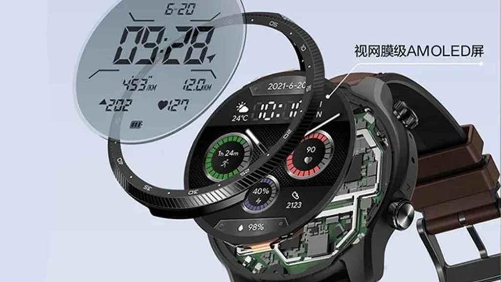 Ticwatch Pro X componentes