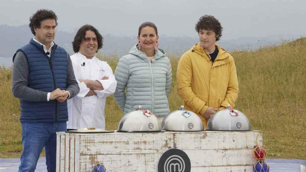 Los jueces del programa han imitado el acento gallego para elegir equipo.