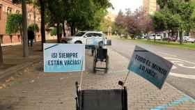 Campaña de Aspaym en Palencia