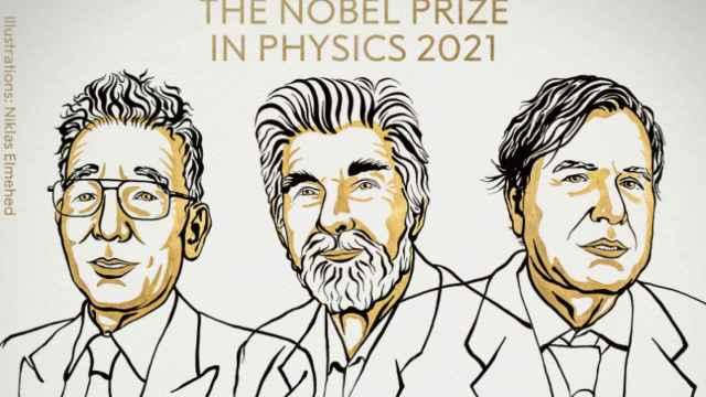 Syukuro Manabe, Klaus Hasselmann y Giorgio Parisi.