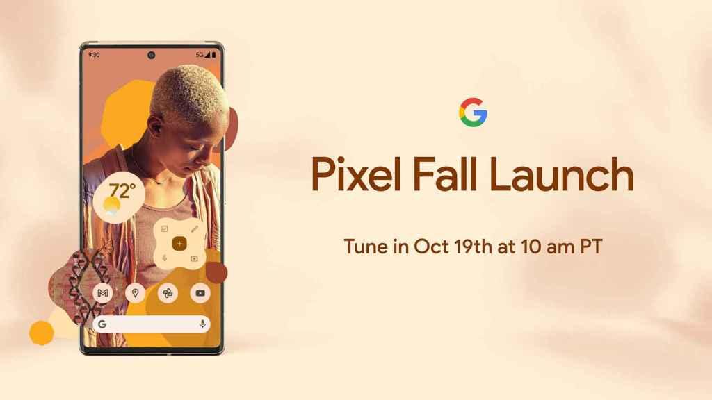 Anuncio del Pixel 6