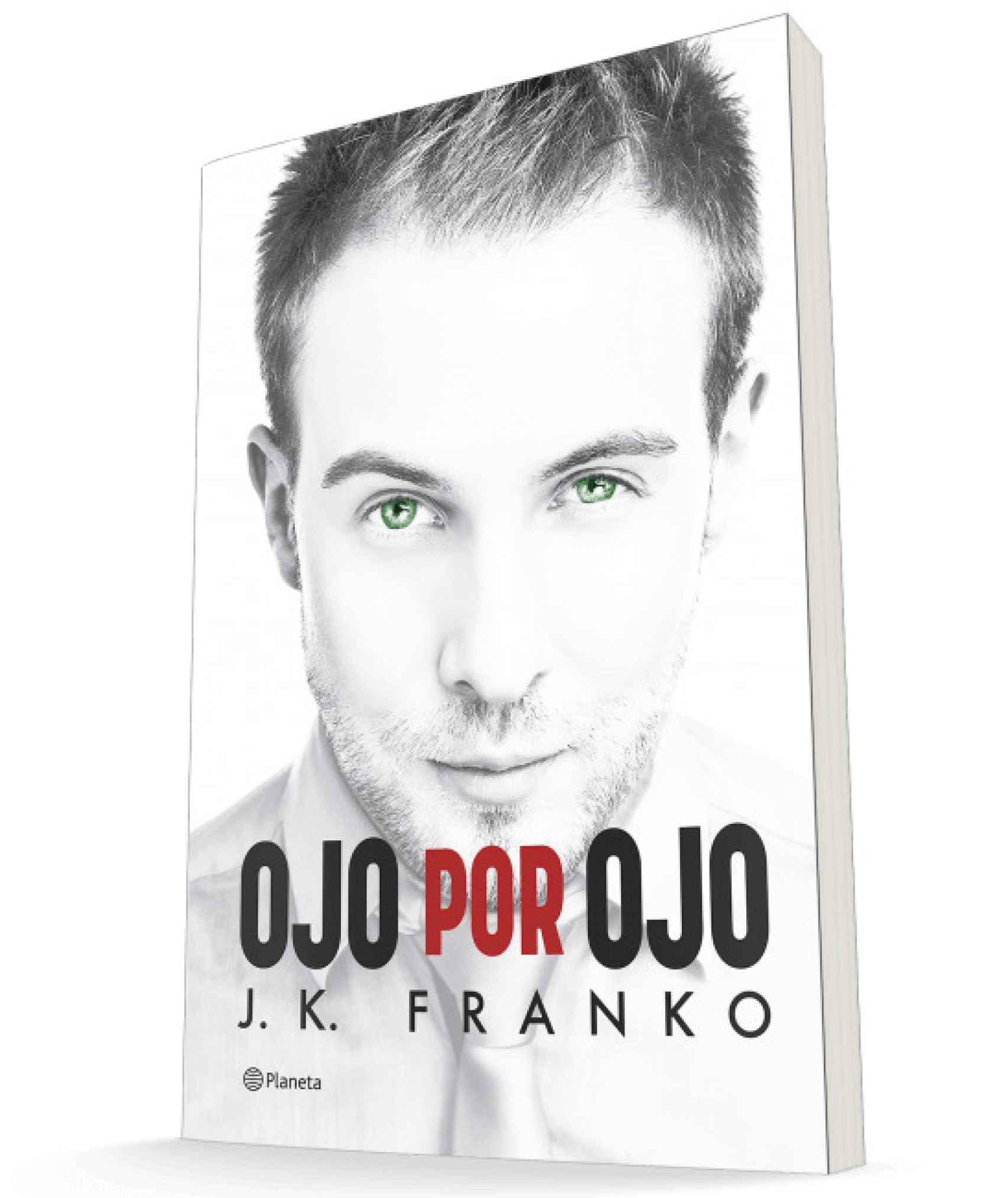 Portada de 'Ojo por ojo' de J. K. Franko.
