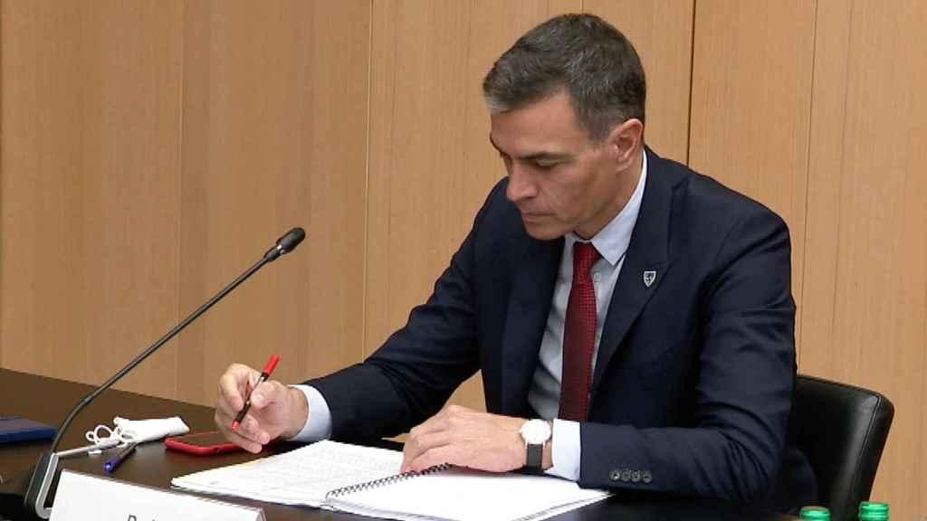 Pedro Sánchez, durante la cumbre informal de Eslovenia