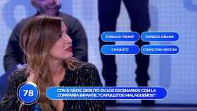 Lucía Jiménez en 'Pasapalabra'