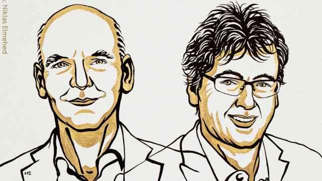 Benjamin List y David W.C. MacMillan, Premios Nobel de Química 2021.