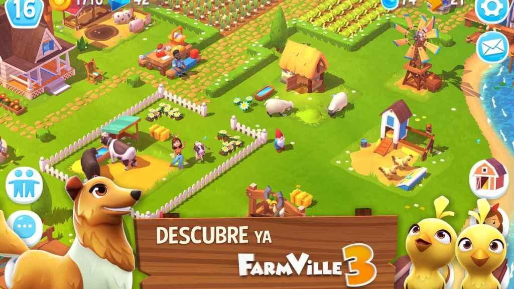 El popular Farmville vuelve en forma de juego para Android: Farmville 3