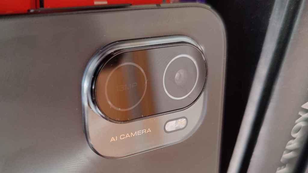 El módulo trasero de cámara del Xiaomi Pad 5 solo tiene un sensor, aunque parezcan dos