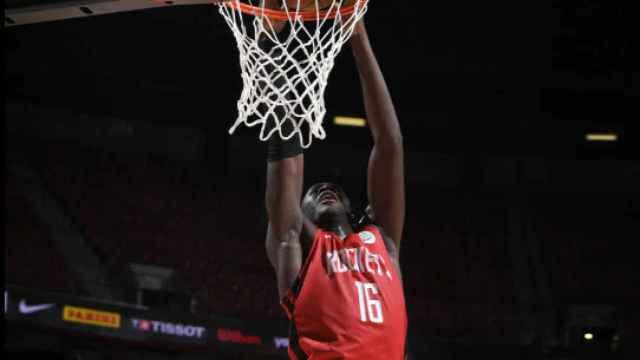 Usman Garuba. Foto: Houston Rockets