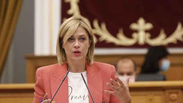 Carmen Picazo durante su intervención.