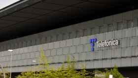 Imagen de la sede de Telefónica.