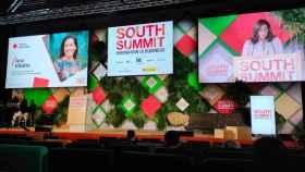 Ana Ribalta, subdirectora general y directora de Sostenibilidad en Banco Sabadell, en su intervención en South Summit 2021.