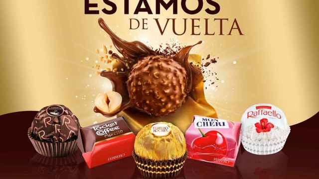 Las especialidades de Ferrero