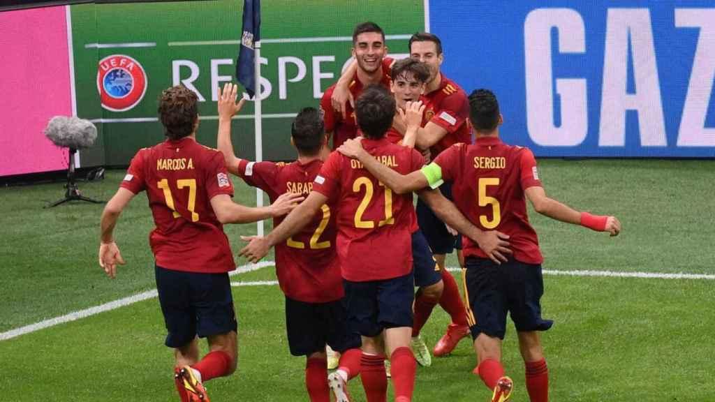 El España - Italia arrasa en La 1 con 4,7 millones  y 'Lazos de sangre' logra máximo de con Gila