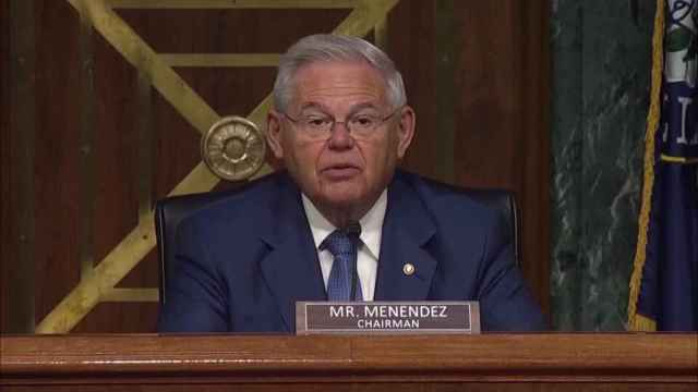 Bob Menéndez, senador demócrata en EEUU.