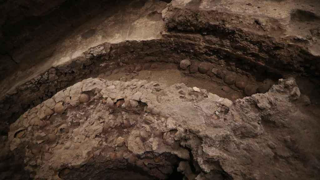 Otra imagen del yacimiento que se está investigando.