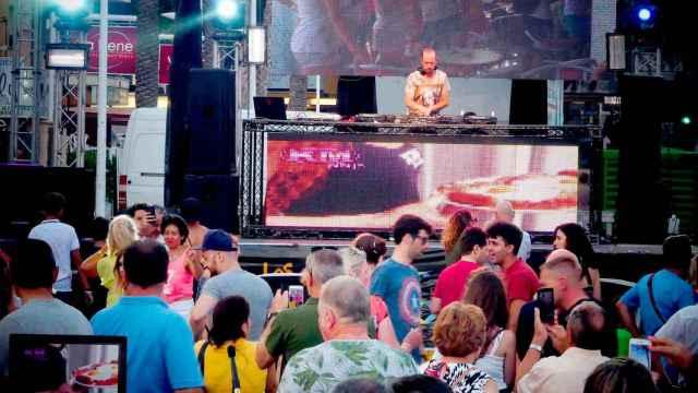 Una discoteca de Benidorm, en imagen de archivo.