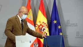 Igea en la rueda de prensa tras el Consejo de Gobierno / ICAL