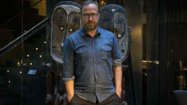 Andri  Snaer Magnason visitó Madrid el pasado mes de septiembre.