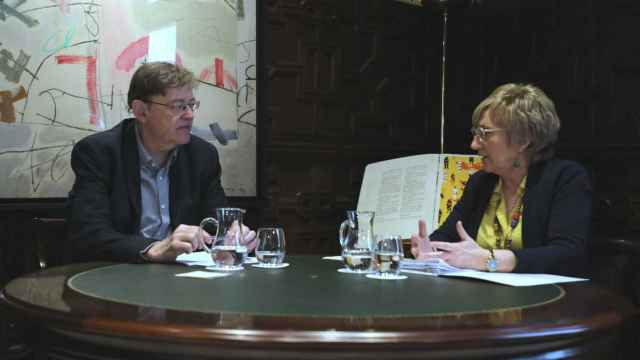 Ximo Puig, presidente de la Generalitat, y Ana Barceló, consellera de Sanidad. EE