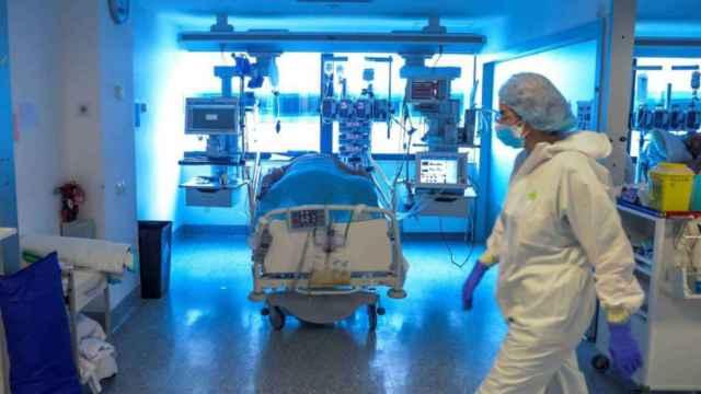 Hospital durante la epidemia de Covid-19