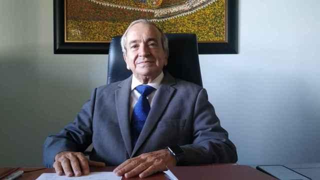 Emilio Lora-Tamayo, rector de la UCJC
