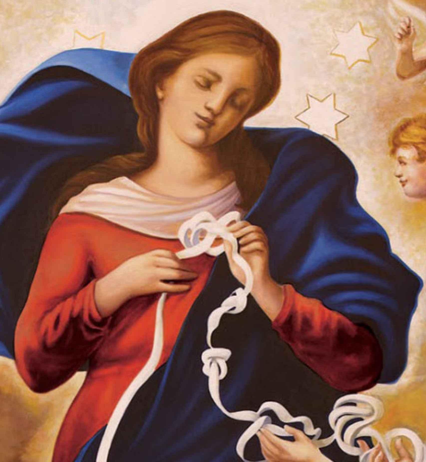 'María Desatanudos'.