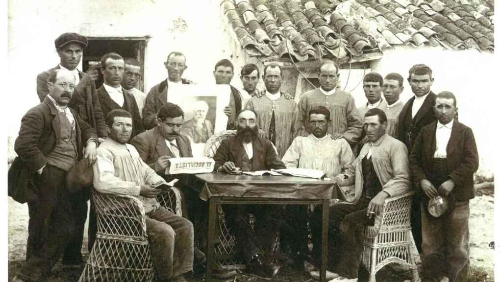 Agrupación socialista de Villalgordo del Júcar, Albacete (1920-1921).