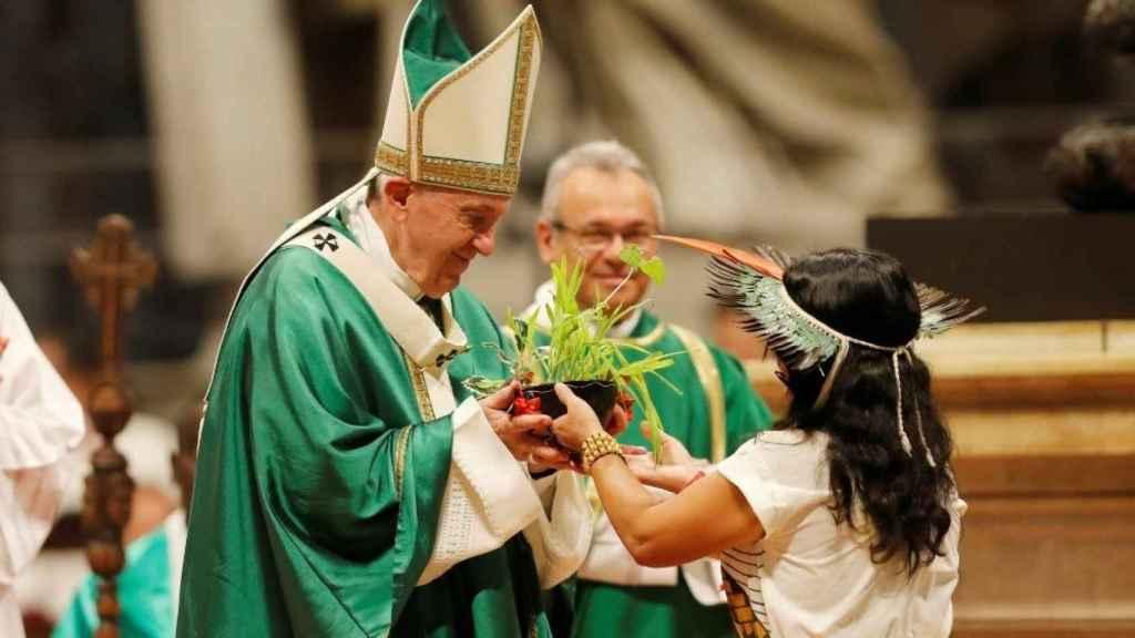 Sínodo del Vaticano en la Amazonía.