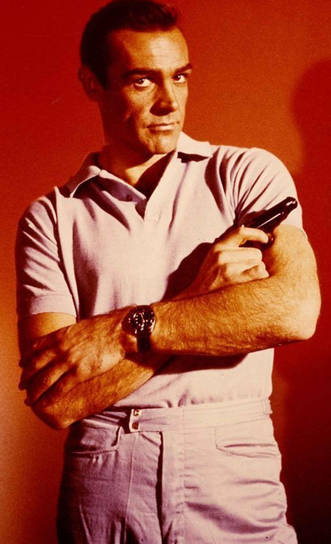 Sean Connery con un rolex.
