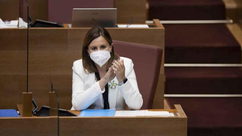 María José Catalá, portavoz del PP en las Cortes Valencianas.