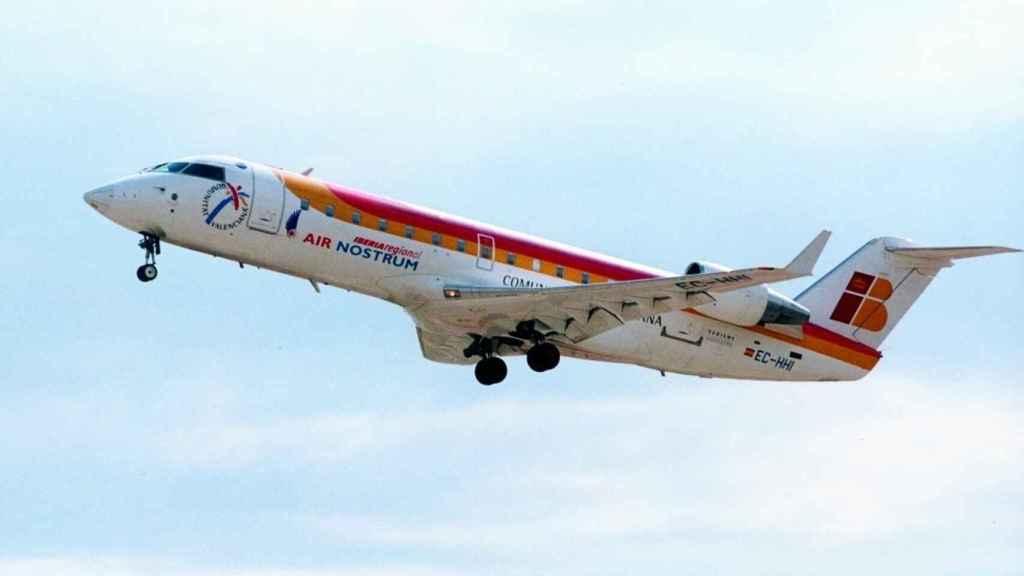 Avión de Air Nostrum, en imagen de archivo.