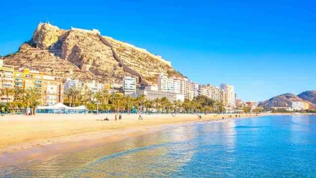 Playa del Postiguet, Alicante.