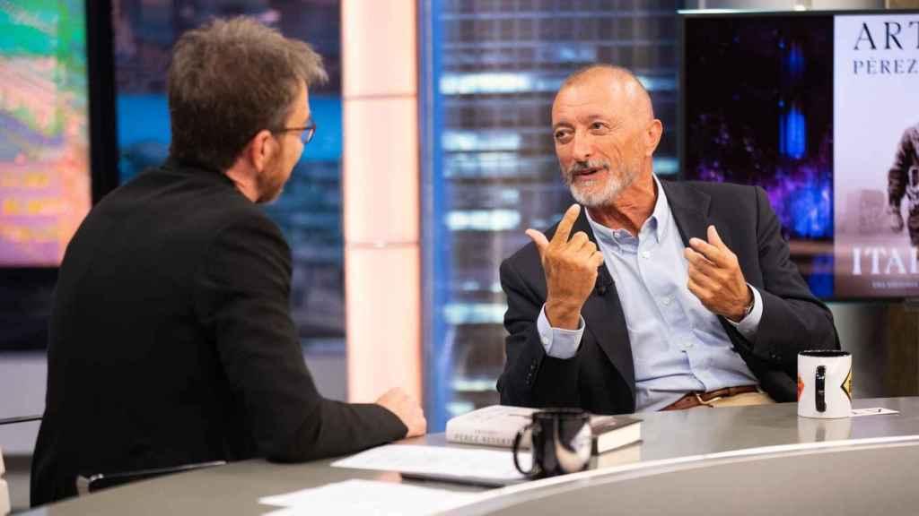 El escritor ha visitado 'El Hormiguero' para presentar su nuevo libro.