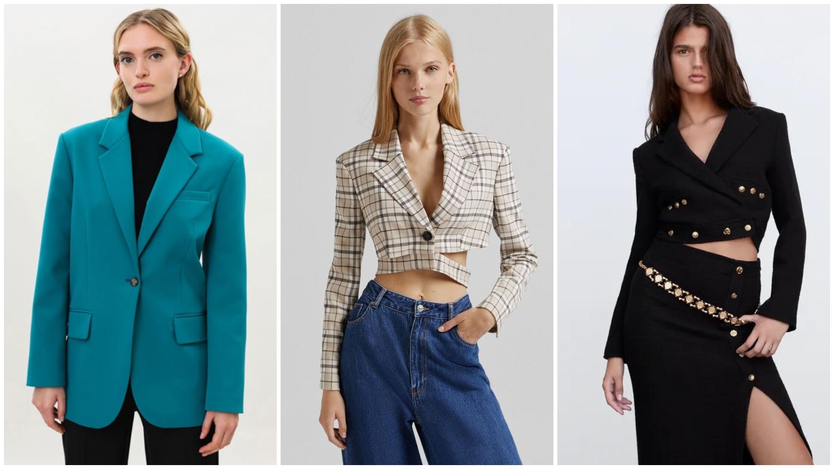 Tres propuestas de 'blazer' alejadas de lo clásico.