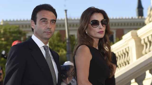 Enrique Ponce y su exmujer, Paloma Cuevas, en una imagen de archivo fechada en junio de 2015.