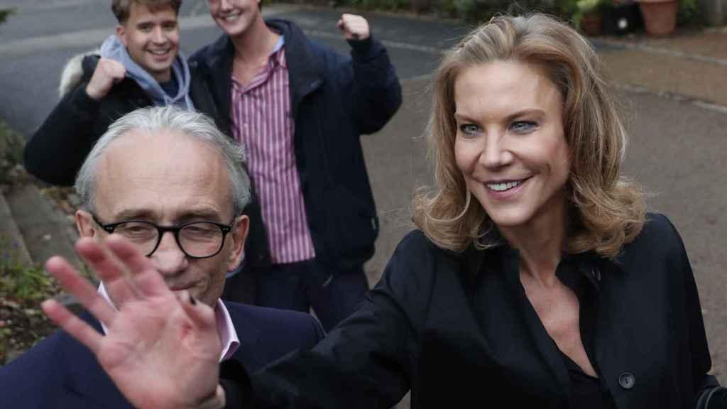 Amanda Staveley celebra la compra del Newcastle