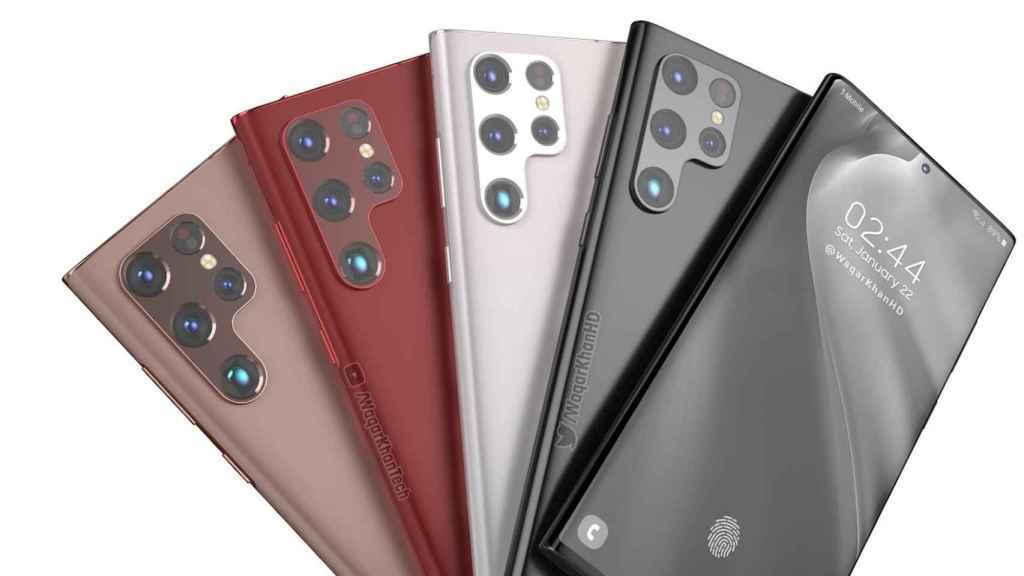 El Samsung Galxy S22 Ultra aparece en un vídeo conceptual