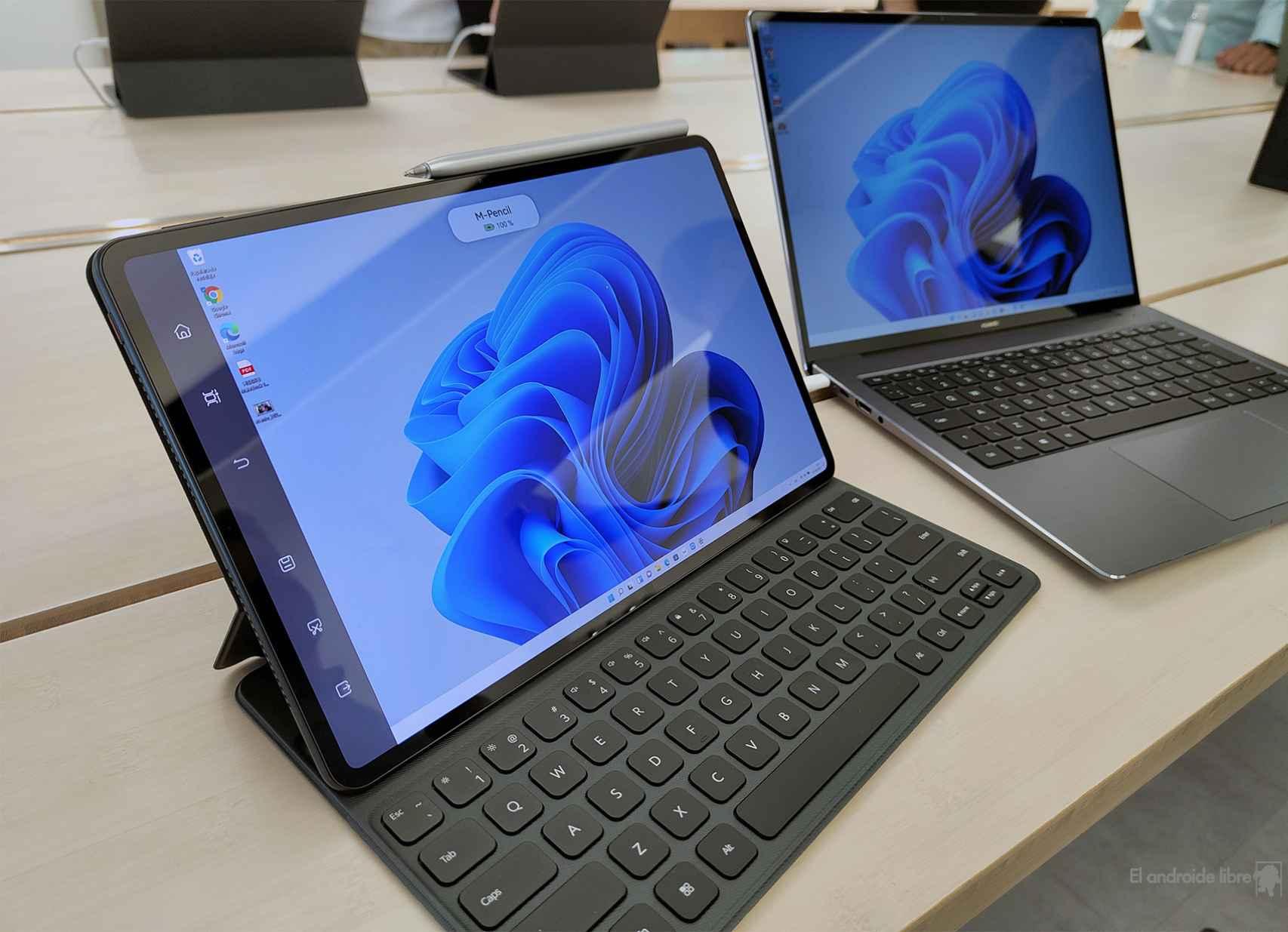 Duplicar pantalla con la Huawei MatePad Pro 12,6