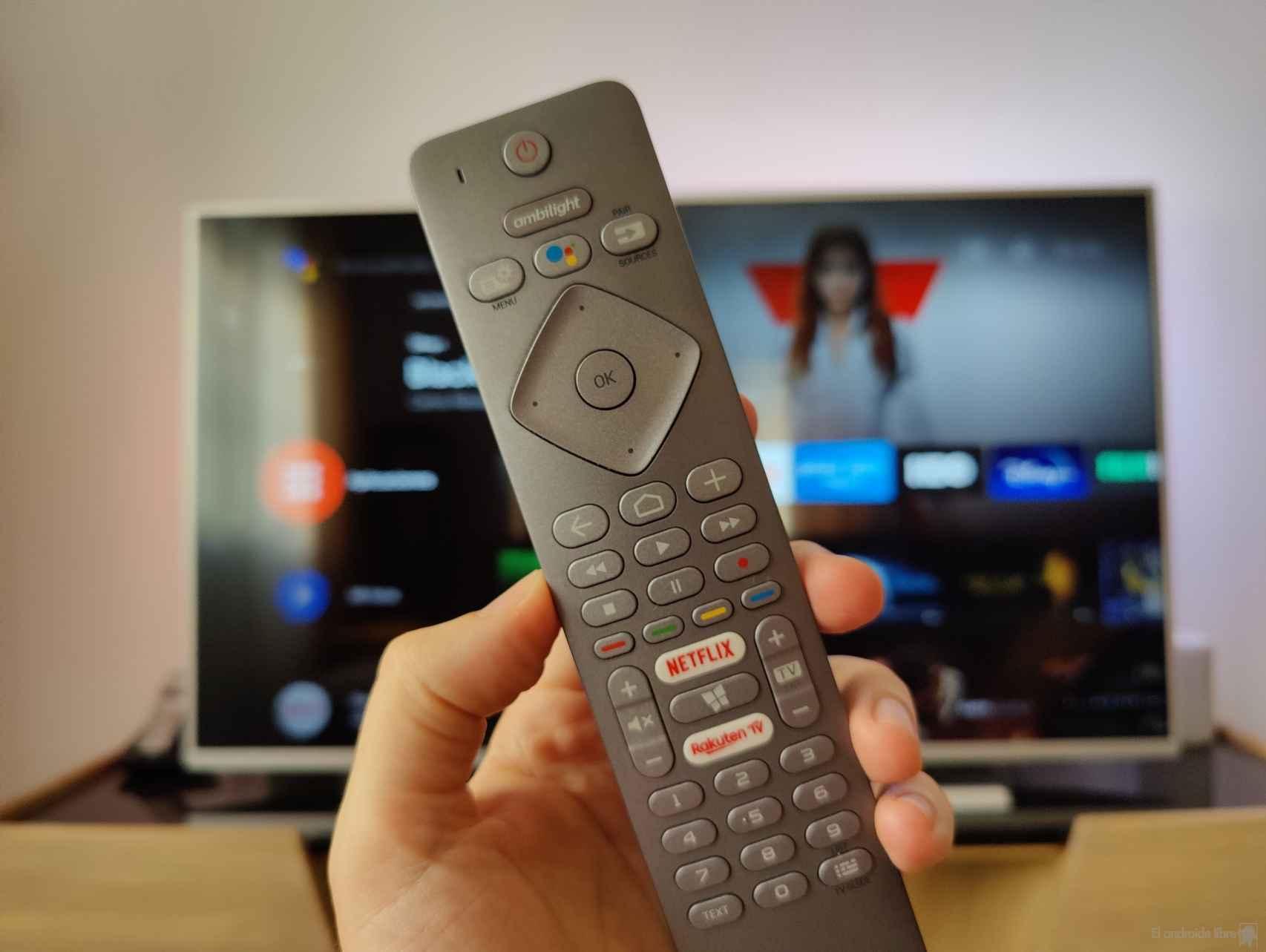 Captura pantalla en Android TV