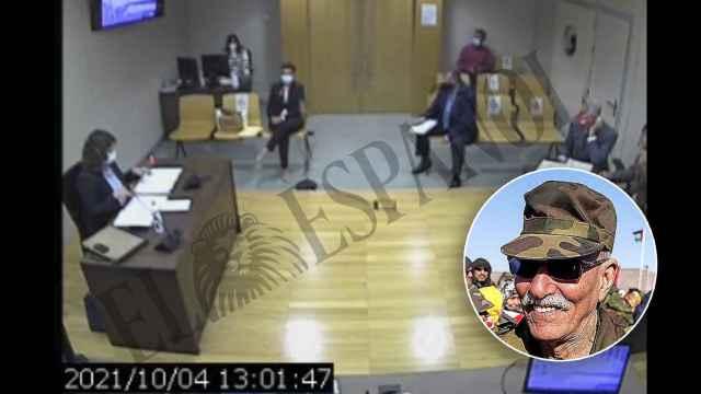 La exministra de Asuntos Exteriores, ante el juez este pasado lunes.