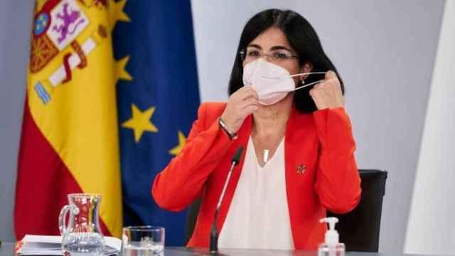 La ministra de Sanidad, Carolina Darias. EP