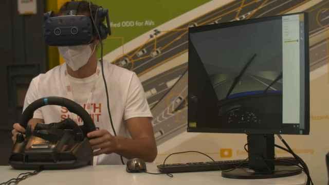 Realidad virtual de Ferrovial.