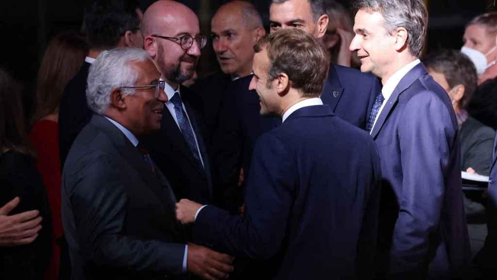 El presidente del Gobierno, Pedro Sánchez, durante la cumbre de líderes europeos de Eslovenia la semana pasada