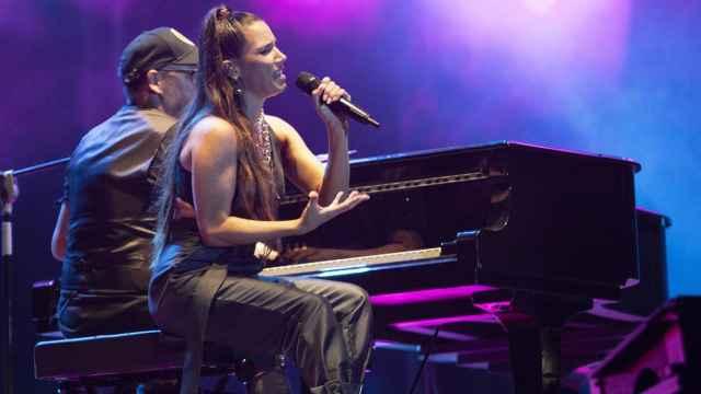India Martínez, en un concierto.