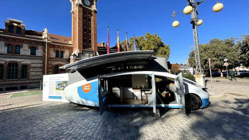 Stella Vita, autocaravana capaz de circular con sus paneles solares.