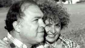 Paco Uribes junto a su mujer, Celia Madero. Foto: Bodega Calzadilla.