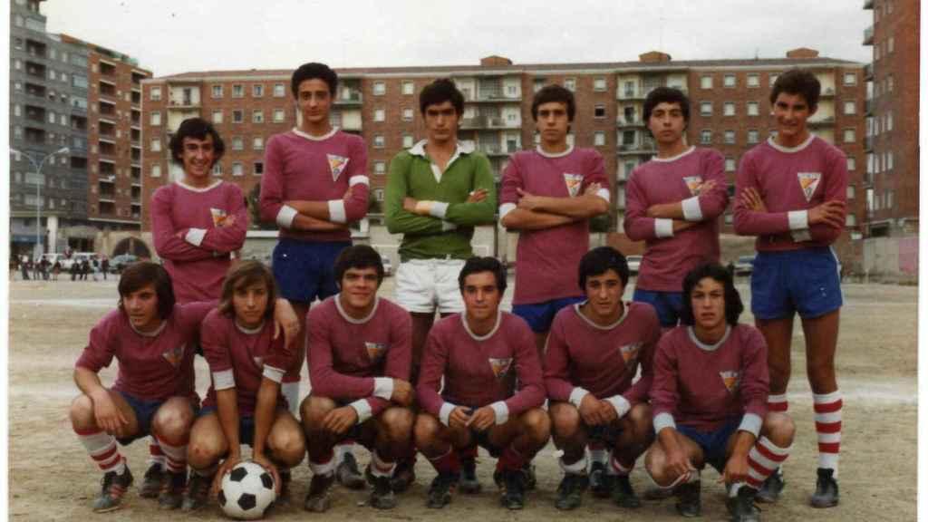 Equipo de la UD Sur de la temporada1973-74